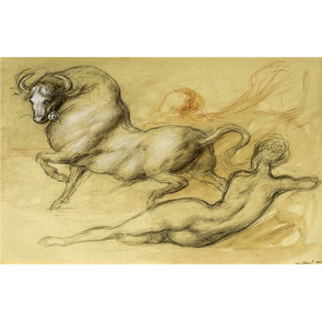 Study for Pasiphae